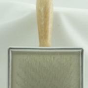 houten slickerborstel